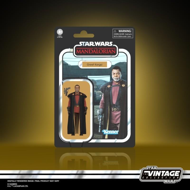 Figurine Star Wars Vintage Collection 10cm Greef Karga