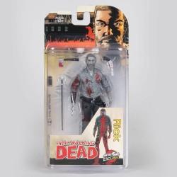 The Walking Dead figurine Rick (Bloody B&W) 15 cm