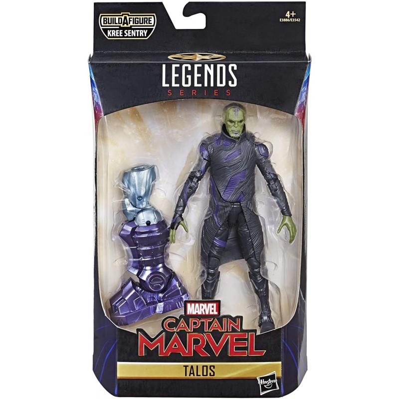 Figurine Marvel Legends 15 cm Captain Marvel Talos Skrull