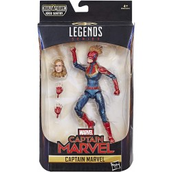 Figurine Marvel Legends 15 cm Captain Marvel