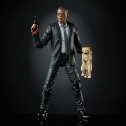 Figurine Marvel Legends 15 cm Captain Marvel Nick Fury