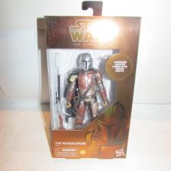 PBA -Figurine Star Wars Black Series Mandalorian Carbonized