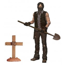 The Walking Dead TV Version figurine Serie 9 Grave Digger Daryl Dixon Dirt Ver. 13 cm