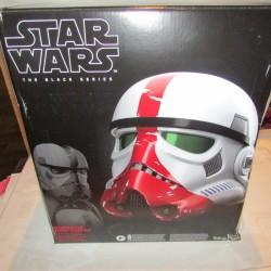 PBA -Figurine Star Wars Black Series Casque Incintator Trooper