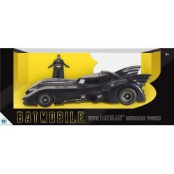 Batman pack figurine flexible et véhicule 1/24 1989 Batmobile avec Batman