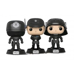 Star Wars pack 3 figurines POP! Vinyl Gunner, Officer & Trooper 9 cm