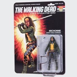 The Walking Dead figurine Shiva Force Samurai Michonne (Color) 13 cm