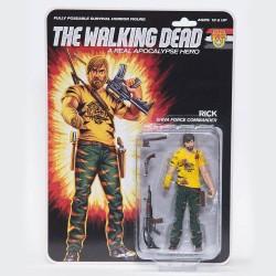 The Walking Dead figurine Shiva Force Commander Rick (Bloody) 13 cm