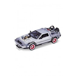 Retour vers le Futur III DeLorean LK Coupe 1981 1/24 métal