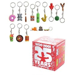 Simpsons Kidrobot porte-clés 4 cm 25th Anniversary