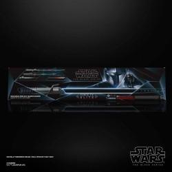 Star Wars The Mandalorian Black Series réplique 1/1 sabre laser Force FX Elite Mandalorian Darksaber