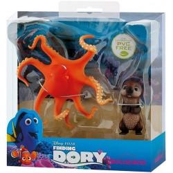 Figurine Bullyland Finding Dory Otter et Hank