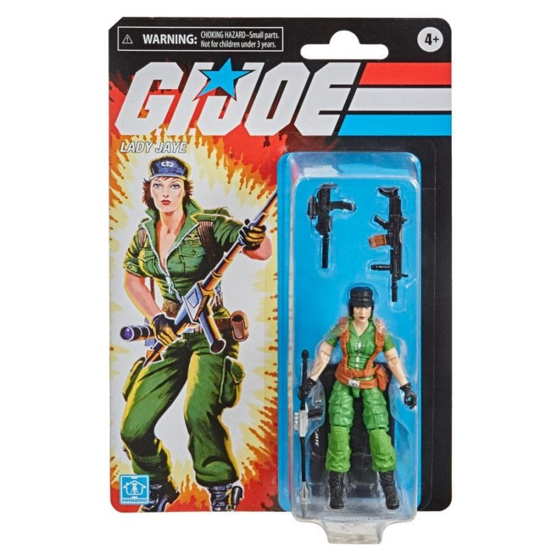 GI JOE Retro collection 10cm Lady Jane