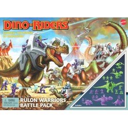 Dino-Riders Rulon Warriors Battle Pack