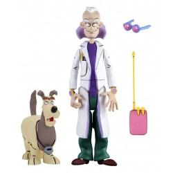 Retour vers le futur figurine 15 cm Toony Classics Doc Brown & Einstein