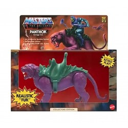 Masters of the Universe Origins 2021 figurine Panthor Flocked Collectors Edition Exclusive 14 cm