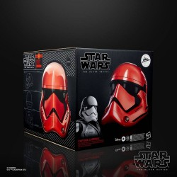 Star Wars Galaxy's Edge Black Series casque électronique Captain Cardinal