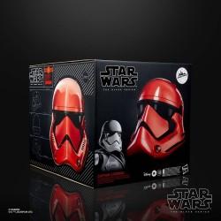 Star Wars Galaxy's Edge Black Series casque électronique Captain Cardinal