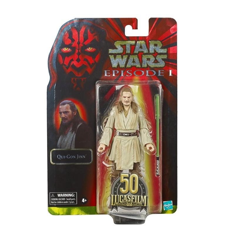 Figurine Star Wars Black Series 15 Qui Gon Jinn  50TH Lucasfilm