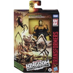 Transformers Kingdom War Of Cybertron Blackarachnia 14 cm