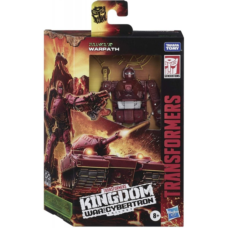 Transformers Kingdom War Of Cybertron Warpath 14 cm