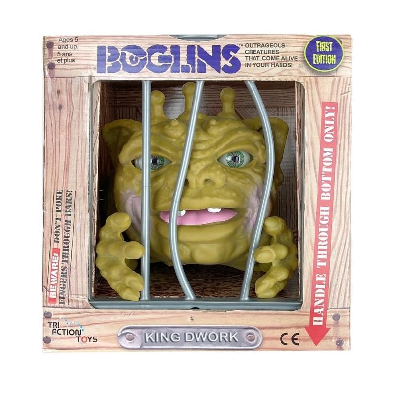 Les Boglins marionnette King Dwork 17 cm First Edition Tri Action Toys  Pré-commandes