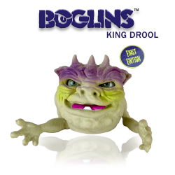 Les Boglins marionnette King Drool 17 cm  First Edition