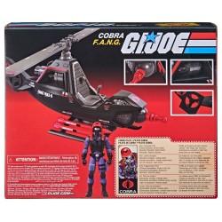 G.I. Joe Retro Collection Series véhicule avec figurine Cobra F.A.N.G.
