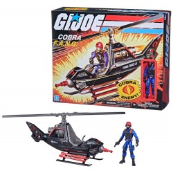 G.I. Joe Retro Collection Series véhicule avec figurine Cobra F.A.N.G.