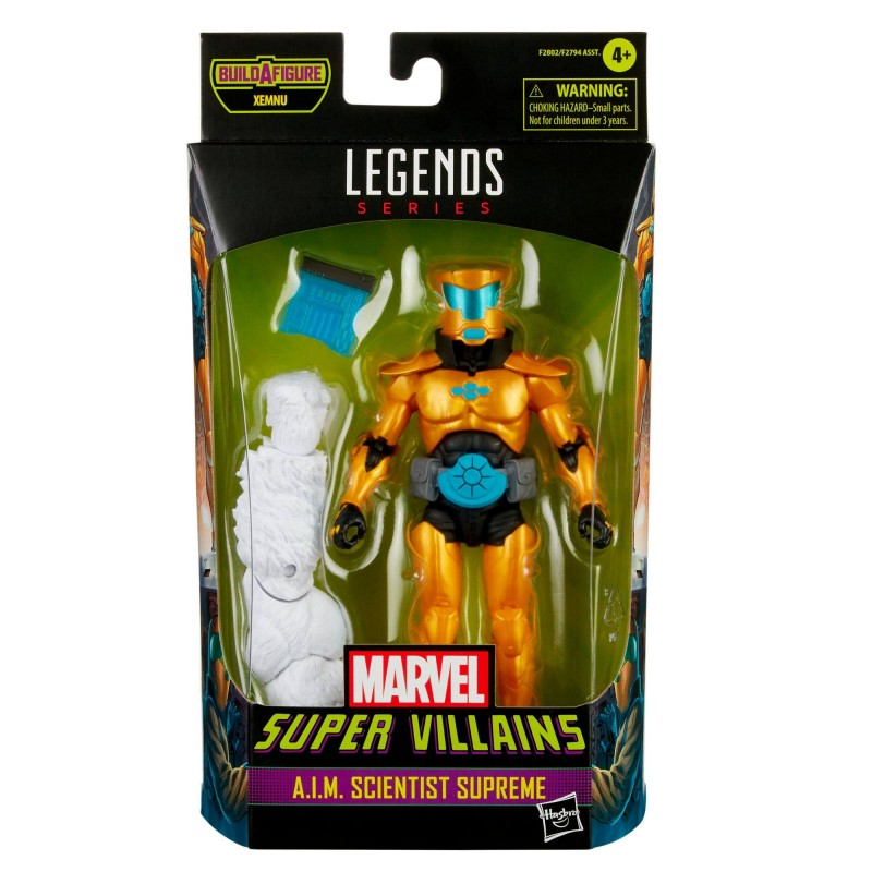 Marvel Legends 2021 figurines Super Villains 15 cm  A.I.M. Scientist Supreme