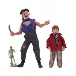 Les Goonies pack 2 figurines Retro Sloth & Chunk 13-20 cm Neca Tout Les Films