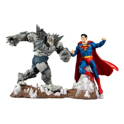 DC Multiverse pack 2 figurines Collector Multipack Superman vs Devastator 18 cm