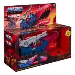 Masters of the Universe Origins 2021 véhicule Land Shark 32 cm