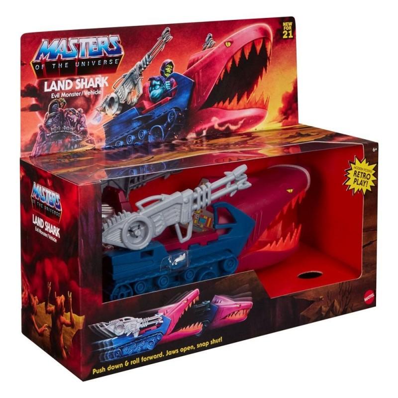 Masters of the Universe Origins 2021 véhicule Land Shark 32 cm