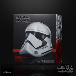Star Wars Episode VIII Black Series casque électronique First Order Stormtrooper