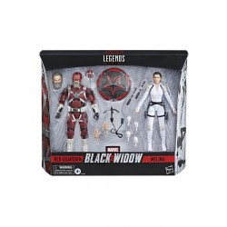Black Widow Marvel Legends pack 2 figurines 2021 Red Guardian & Melina 15 cm