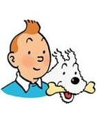 Figurines , voitures & goodies Tintin .