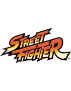 figurines , goodies et statuettes de jeux vidéos Street Fighter.