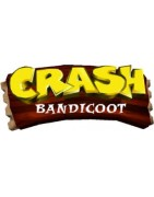 figurines , goodies et statuettes de jeux vidéos Crash Bandicoot.
