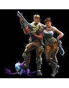 figurines , goodies et statuettes de jeux vidéos Fortnite.