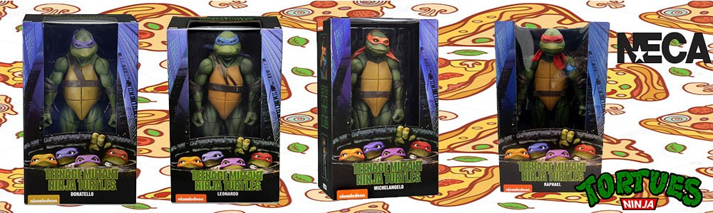 Figurines Tortues Ninja Neca